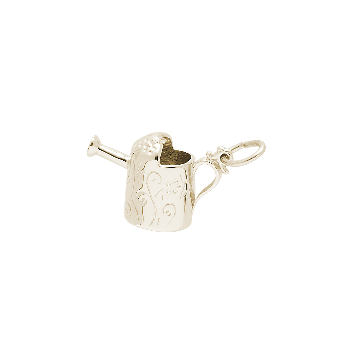 Watering Can Charm, Gold
