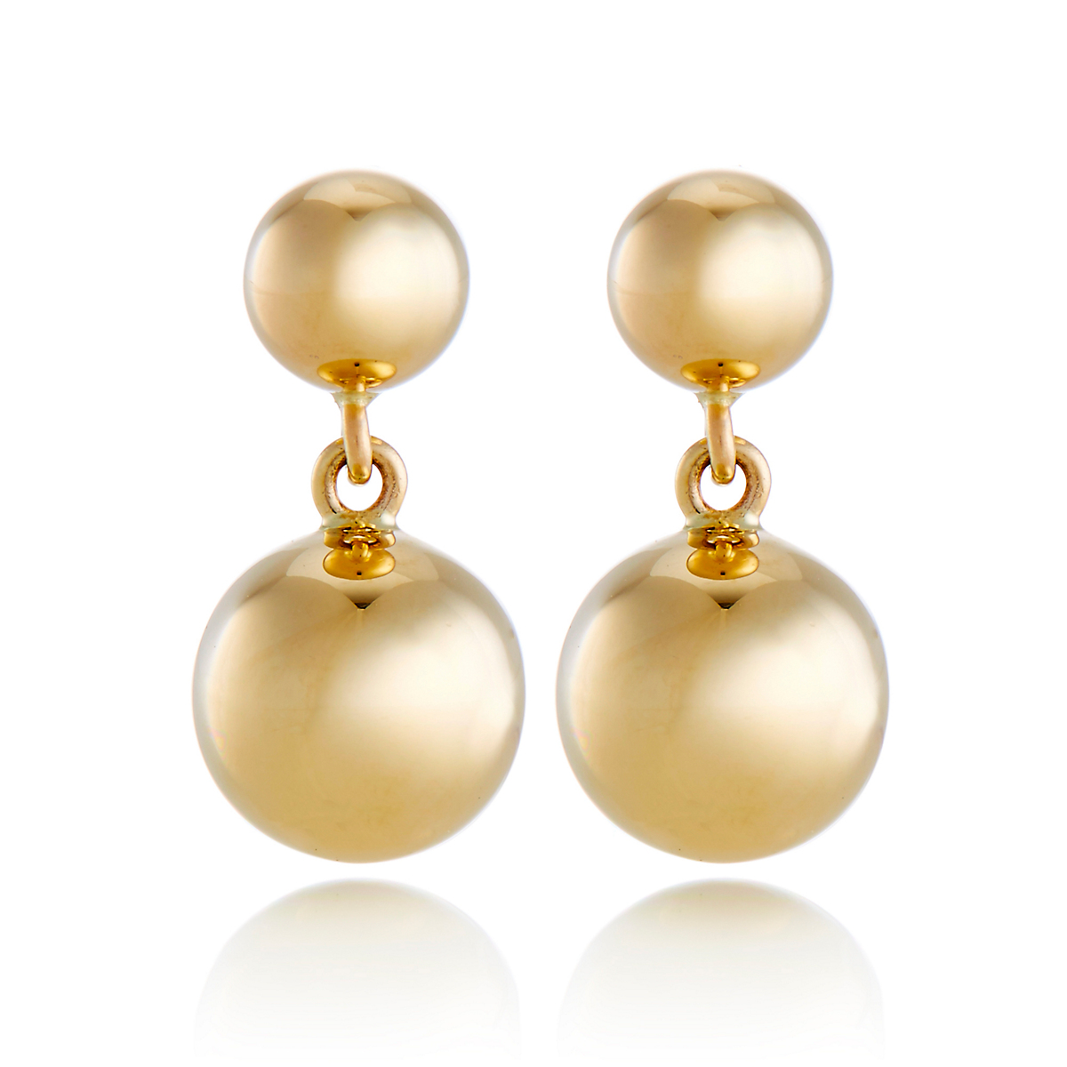 Petite Ball Drop Earrings