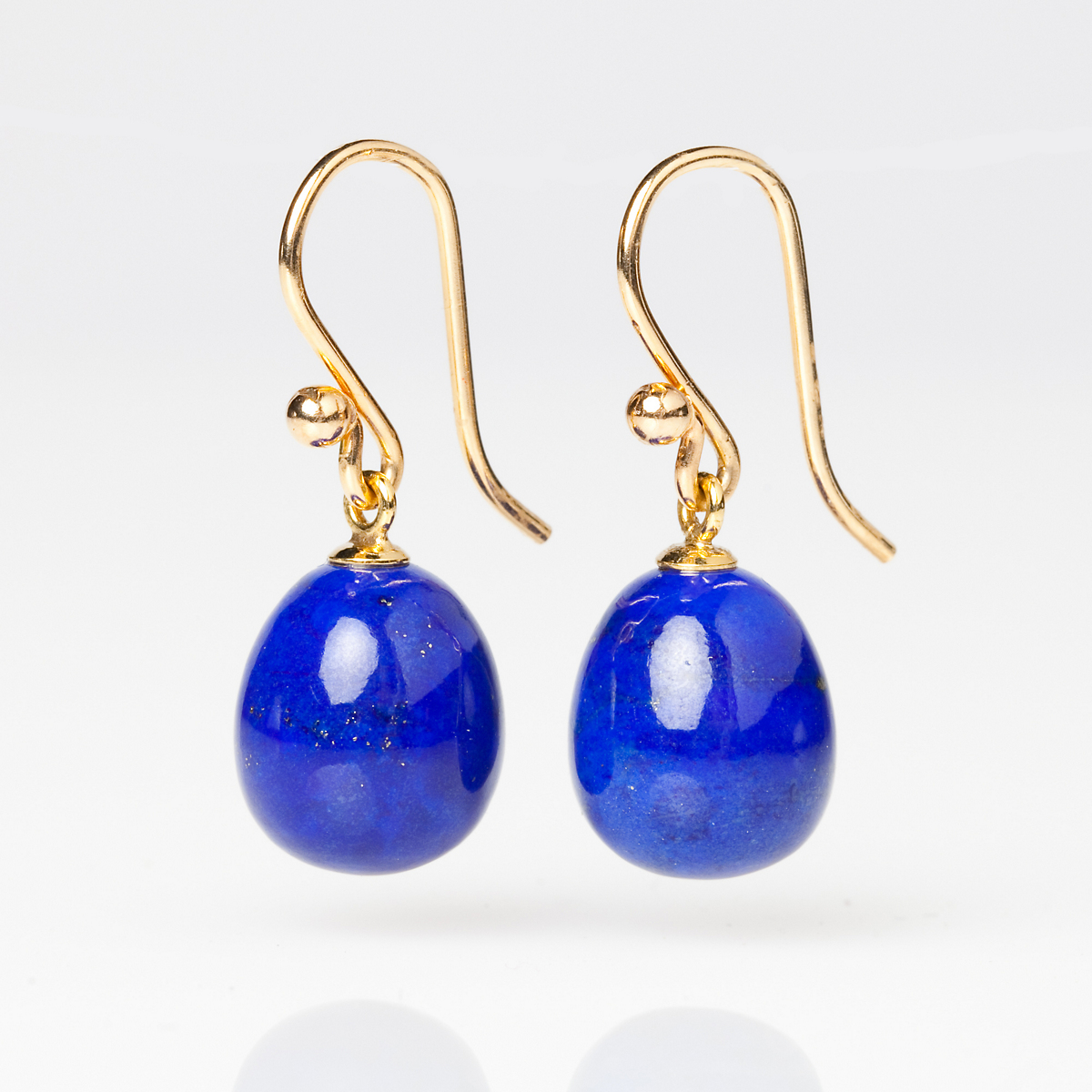 Gump's Lapis Drop Earrings