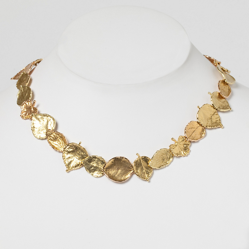 Aaron Henry Leaf Necklace