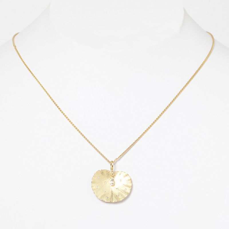 Barbara Heinrich Lotus Leaf Necklace