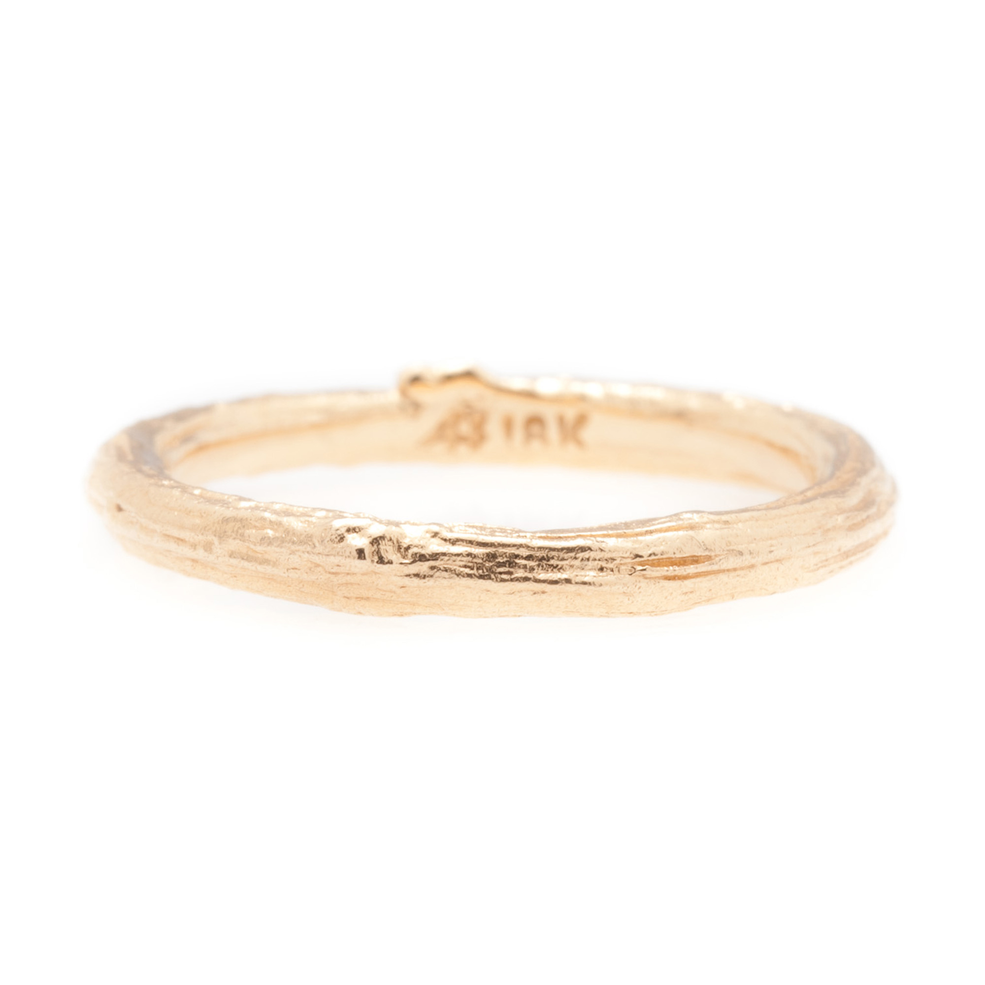Aaron Henry Rose Gold Olive Branch Ring