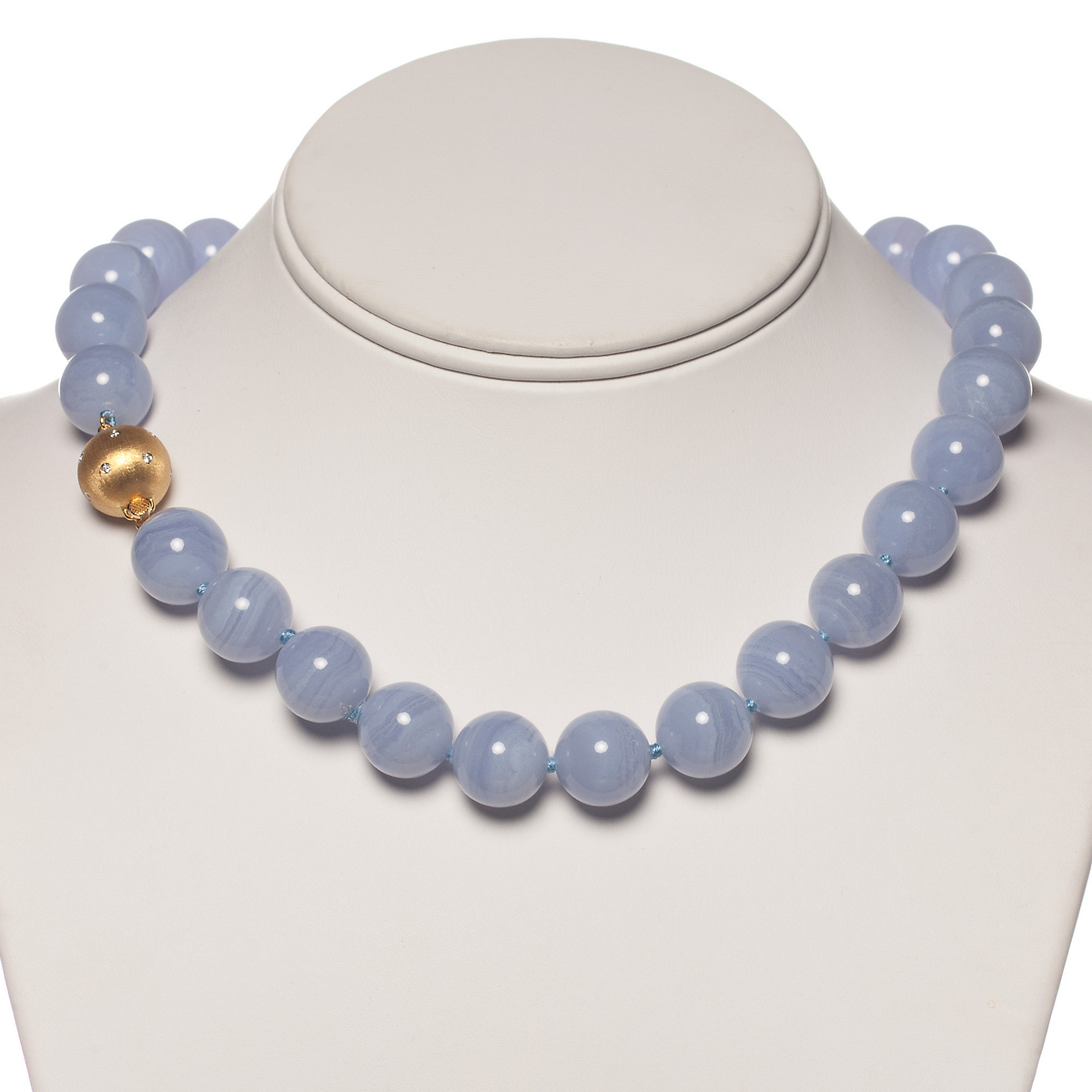 gump 39 s blue lace agate necklace gump 39 s On blue lace agate jewelry
