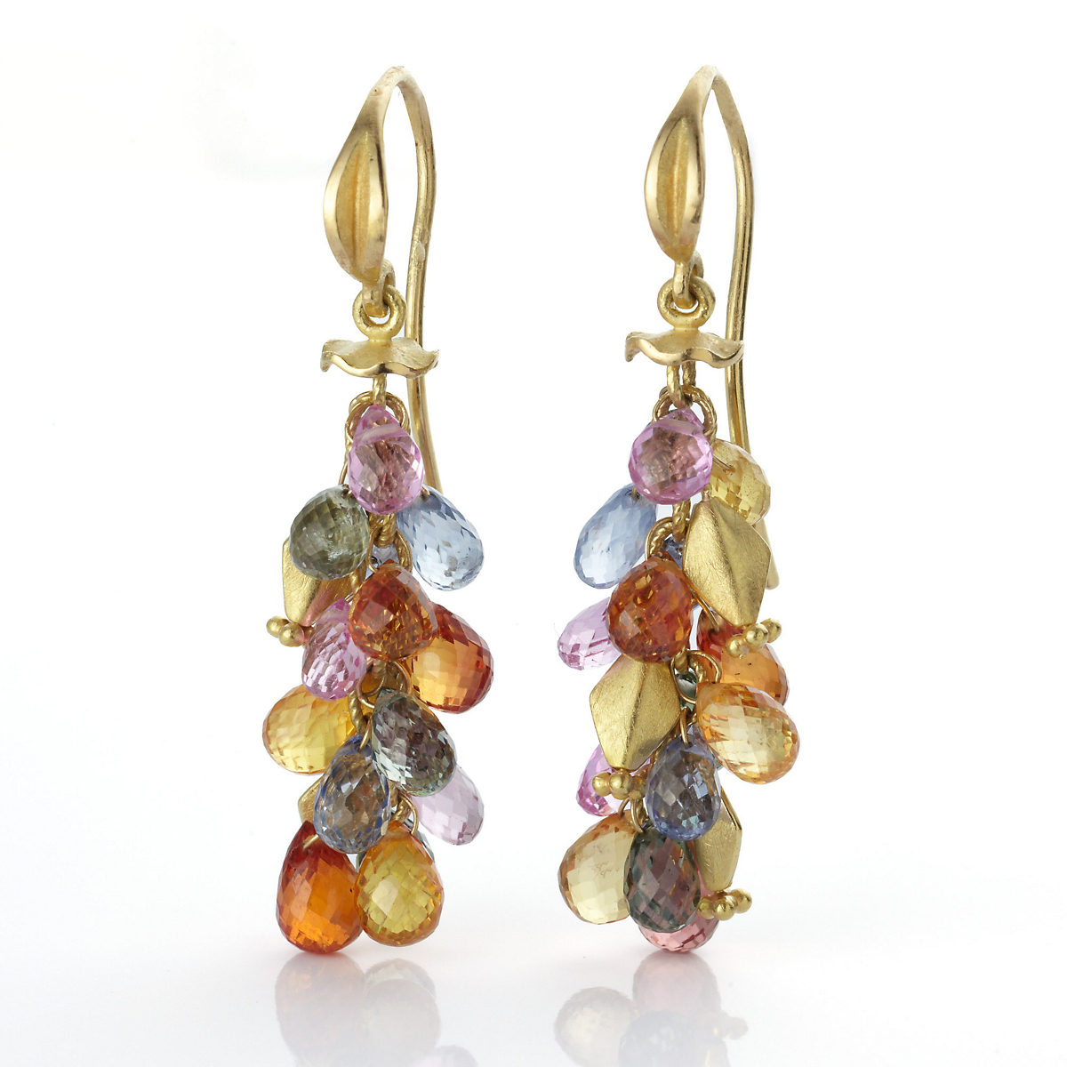 Barbara Heinrich Sapphire Briolette Earrings