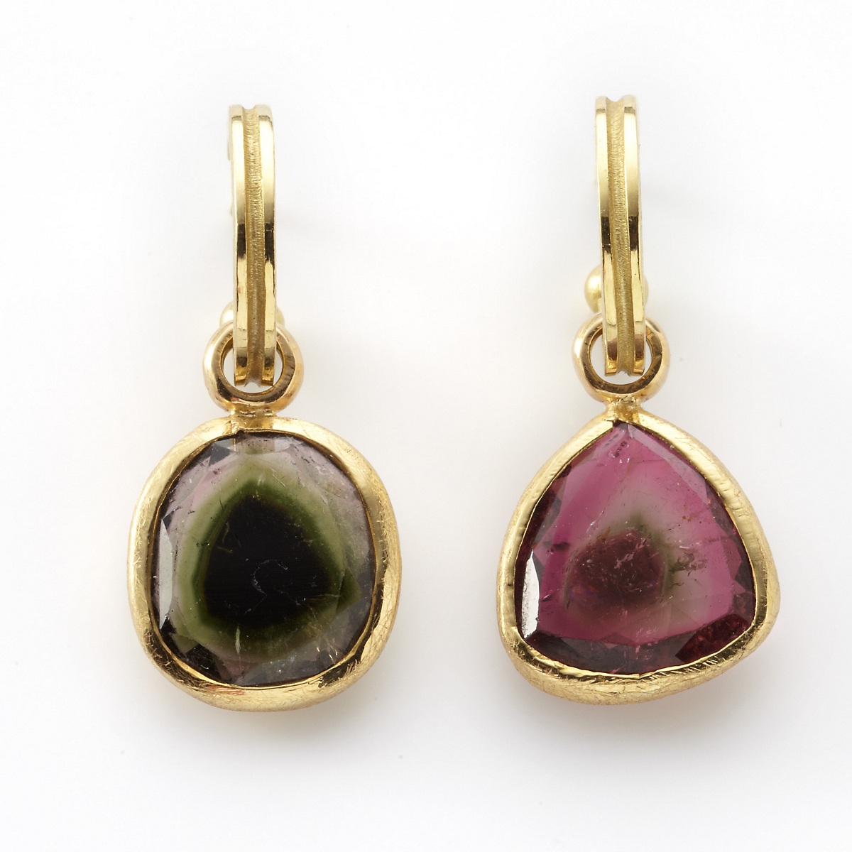 Barbara Heinrich Watermelon Tourmaline Earrings