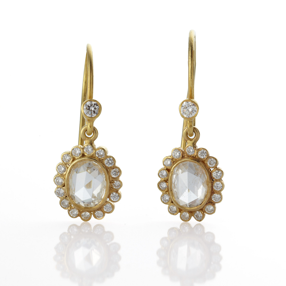 Kothari Rose Cut Diamond Earrings