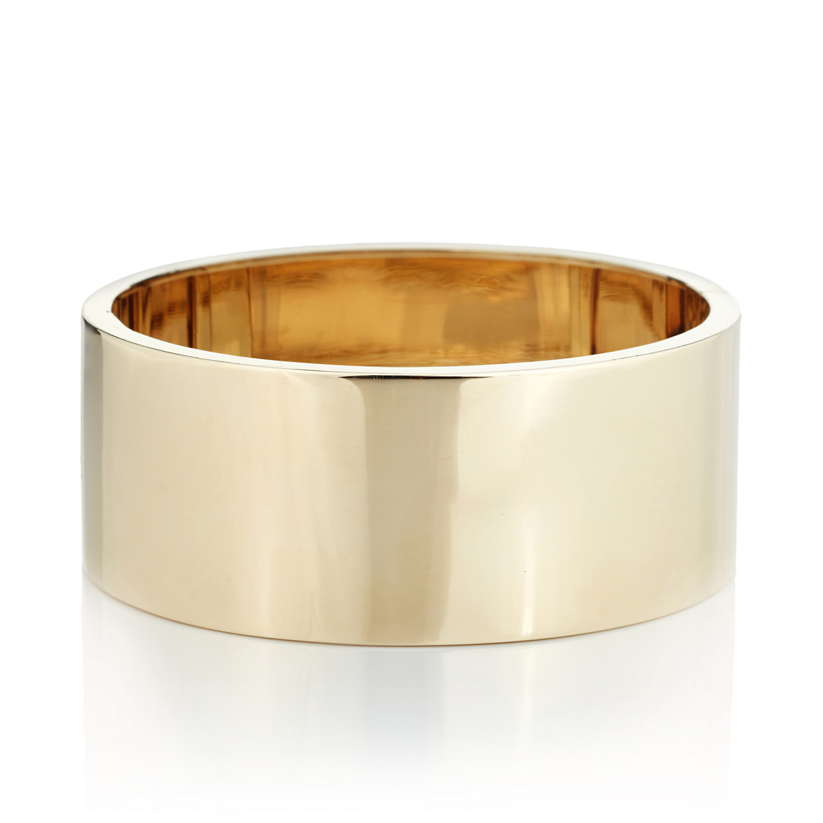 Gump's Wide Gold Bangle