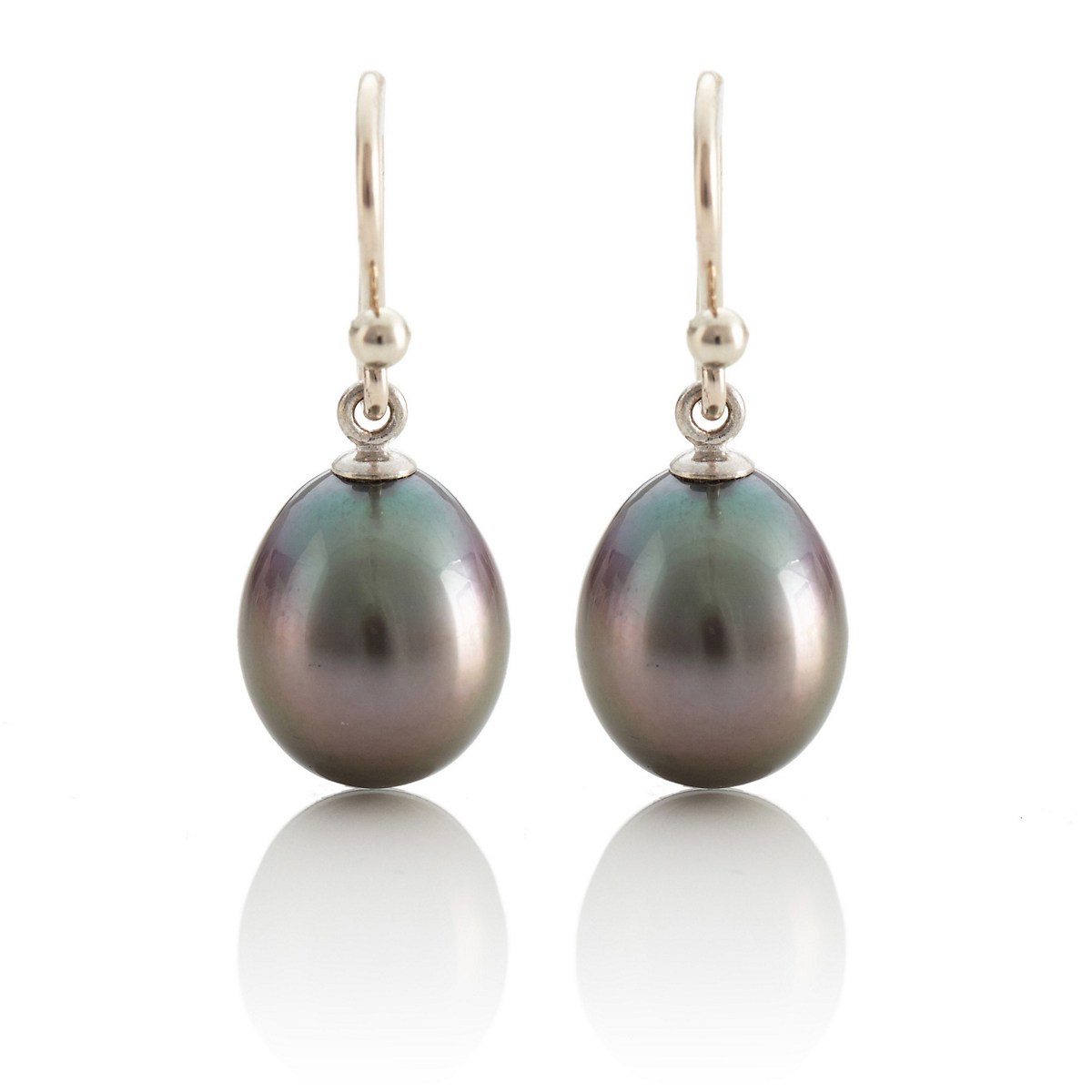 Gump's Tahitian Cultured Pearl Drop Earrings
