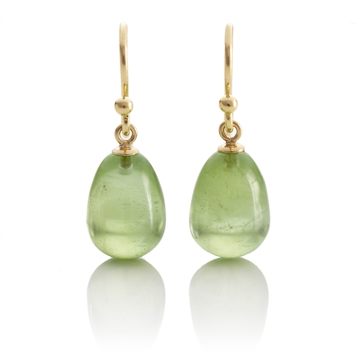 Gump's Peridot Drop Earrings