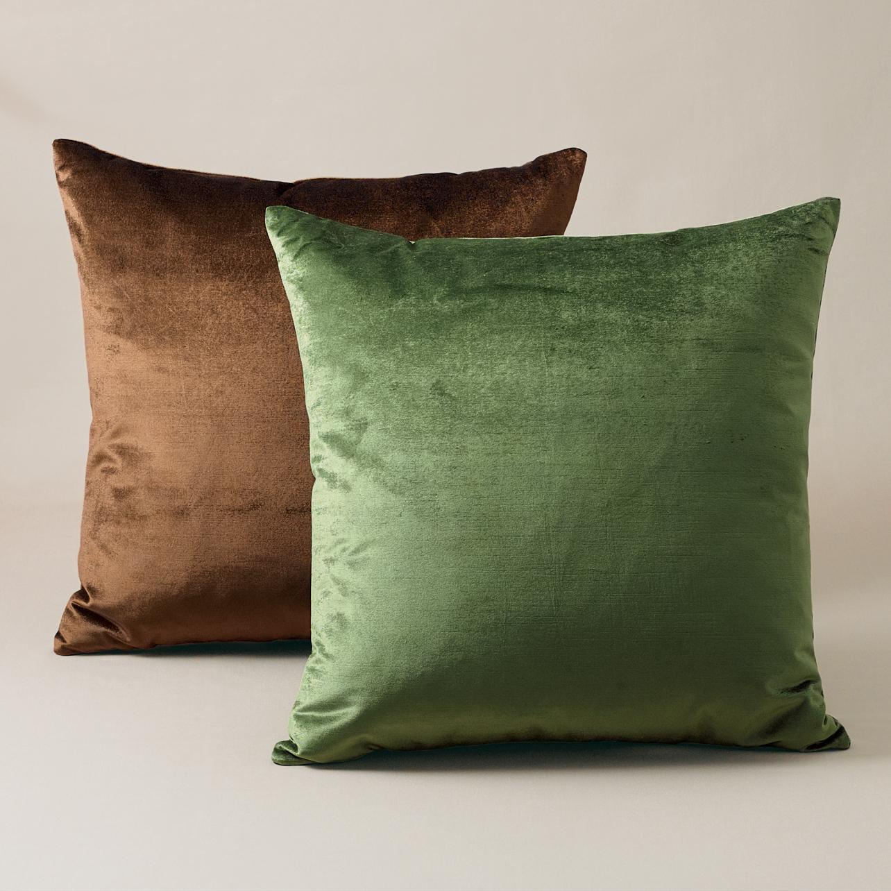 Throw Pillows Home : Luxe Velvet Pillows Gump s