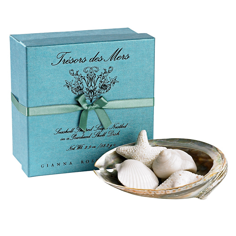 Gianna Rose Treasures of the Sea Soaps In Shell