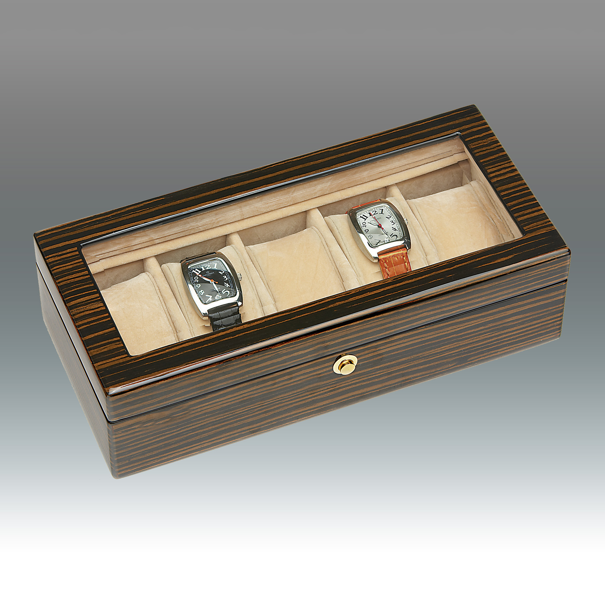Black Ebony Watch Box