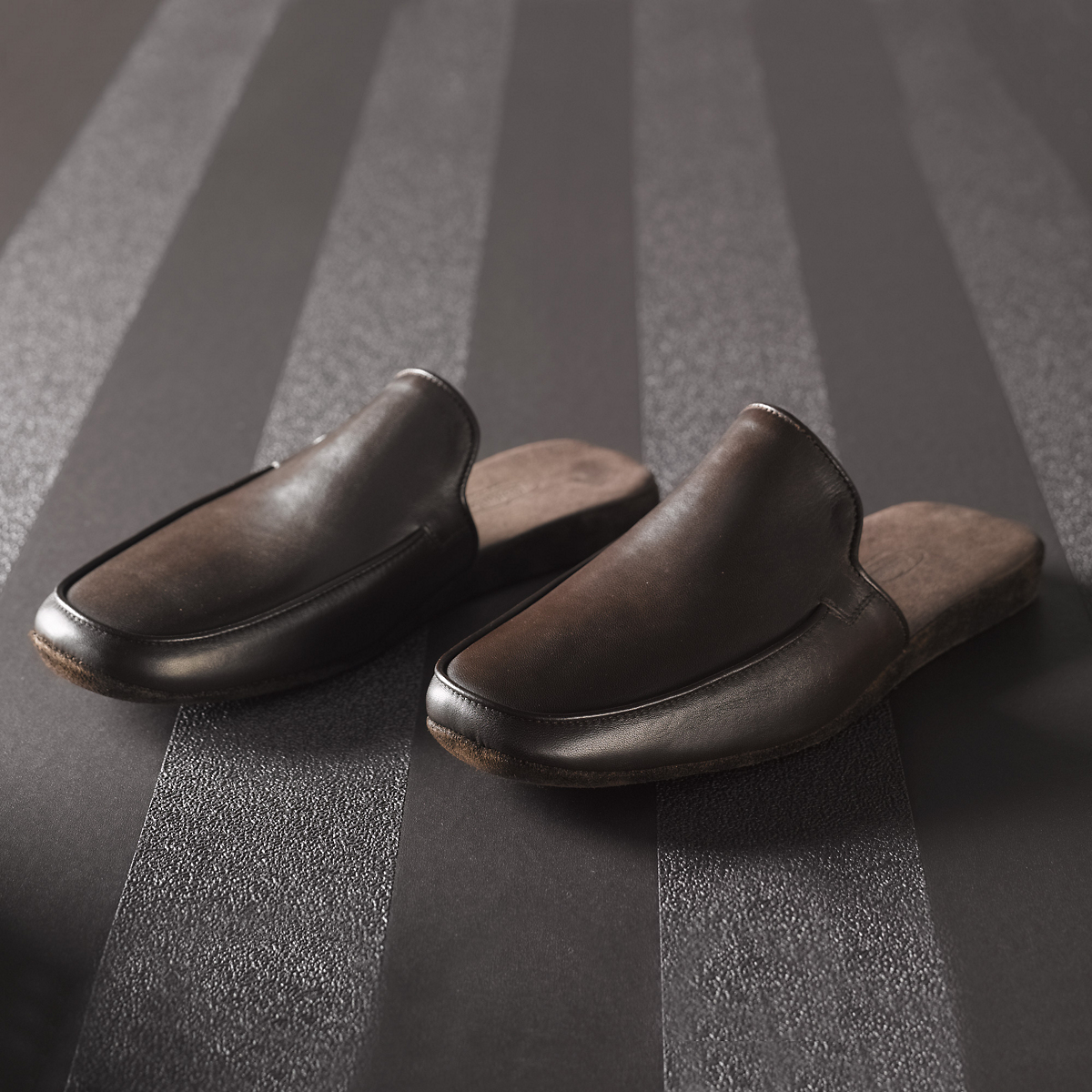 Italian Leather Slippers