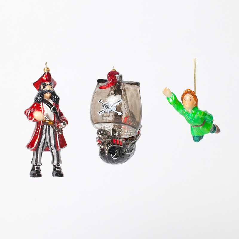 Peter Pan Christmas Ornament Collection