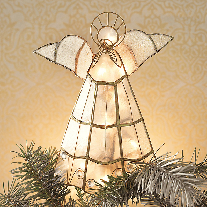 Lighted Angel Tree Topper Gump S