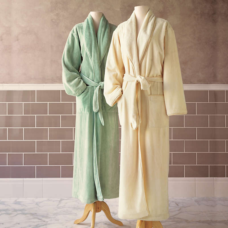 Plush-Perfect Robe