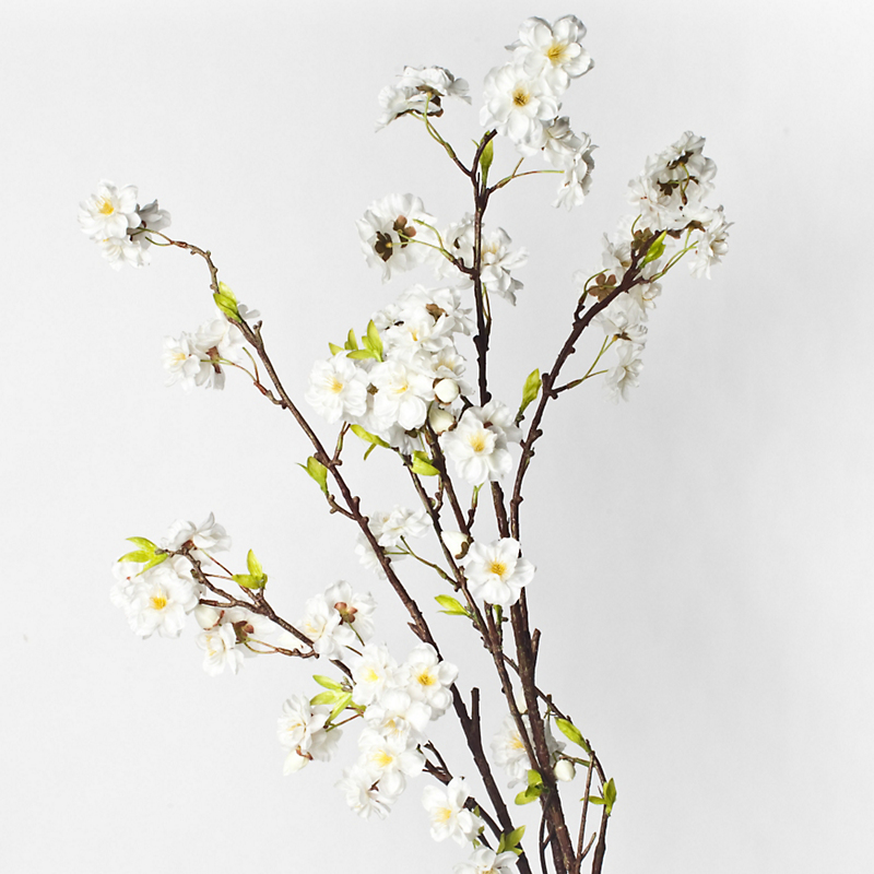 Silk Cherry Blossom Branches