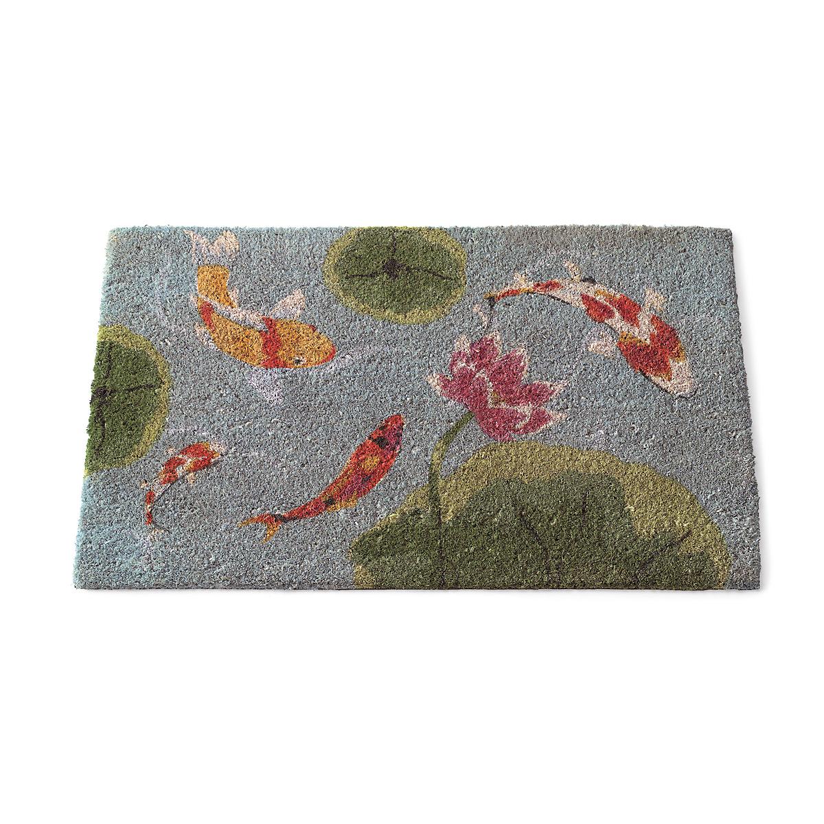 Koi pond coir mat gump 39 s for Koi pond japanese matting