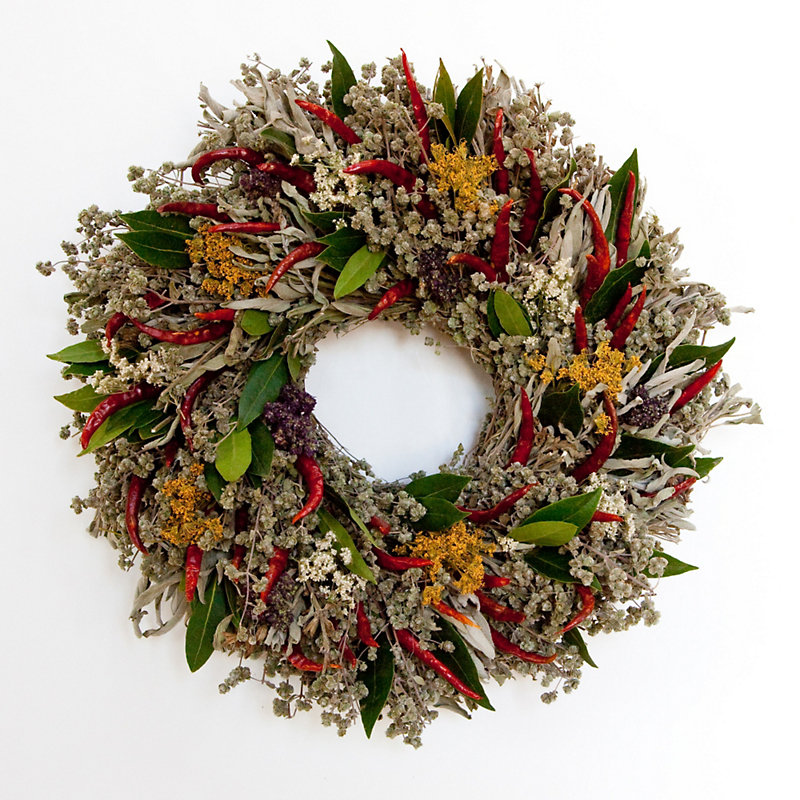 Pepper Herb Wreath