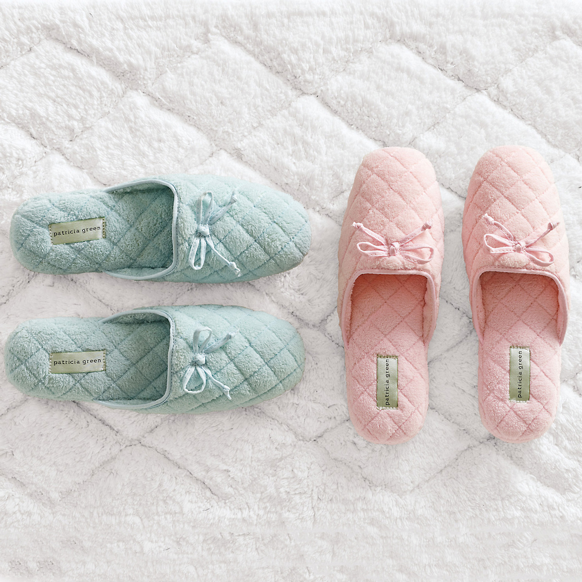 Quilted Terry Slippers
