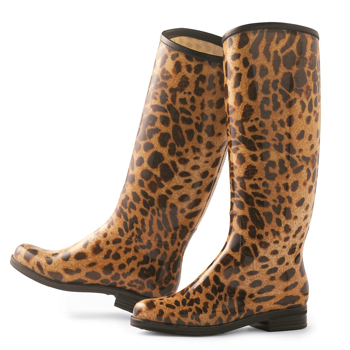 Leopard Rainboots   Gump's
