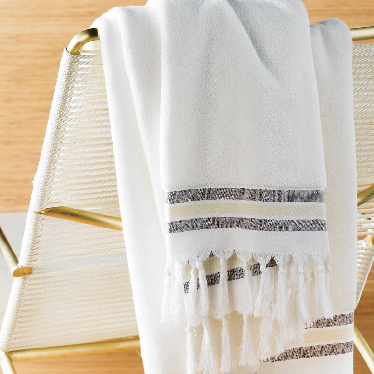 Fringed Spa Bath Sheet