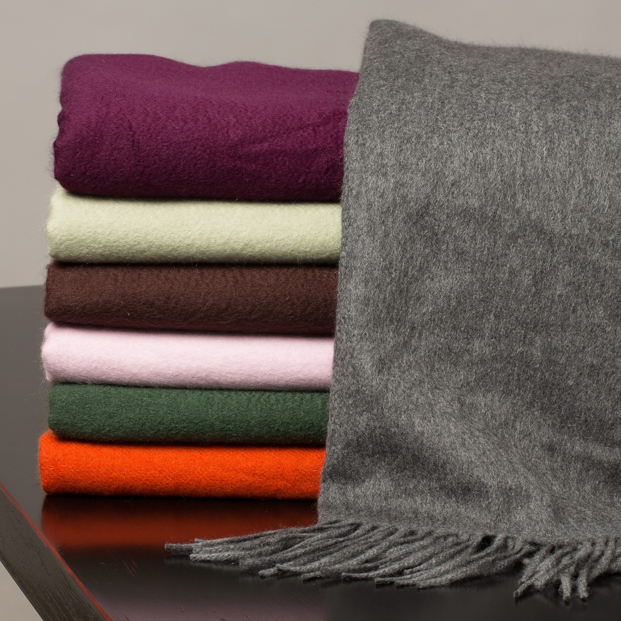 Luxurious Cashmere Throws