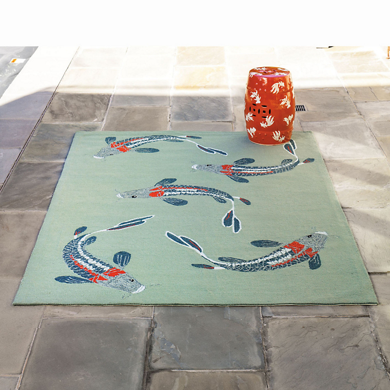 Koi Indoor-Outdoor Rug