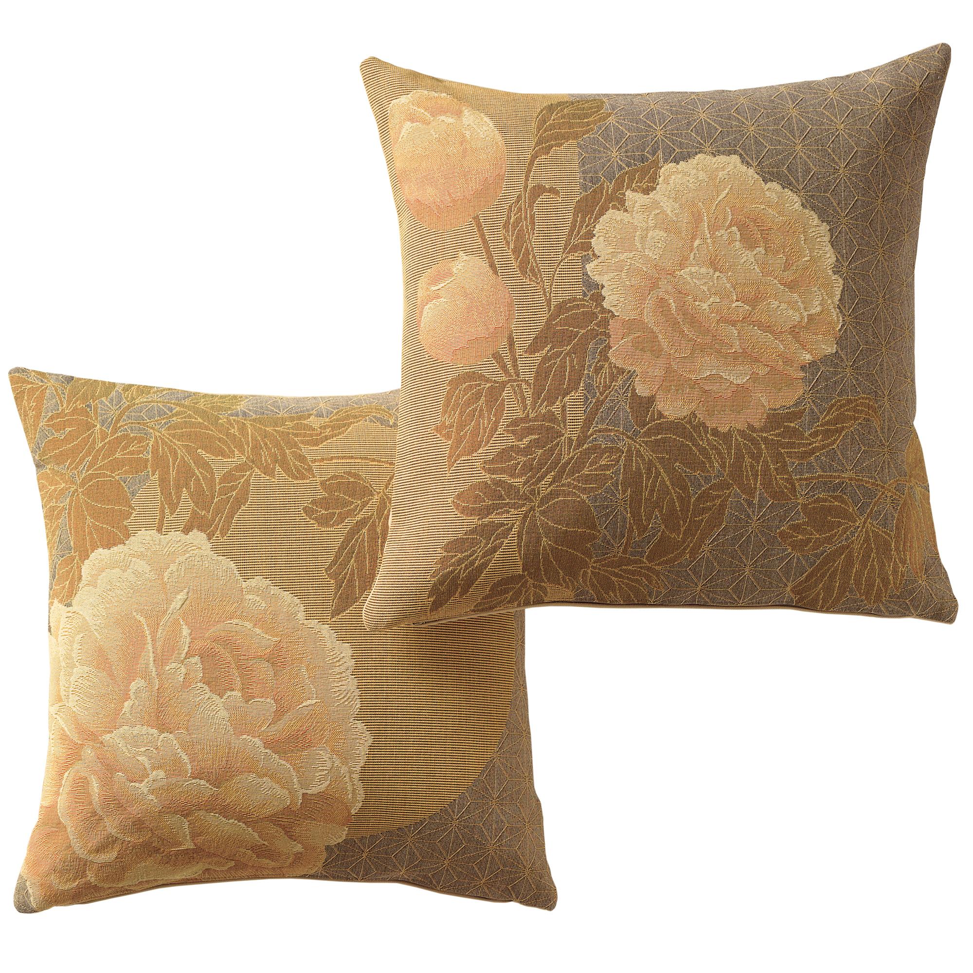 Throw Pillows Home : Golden Peony Pillows Gump s