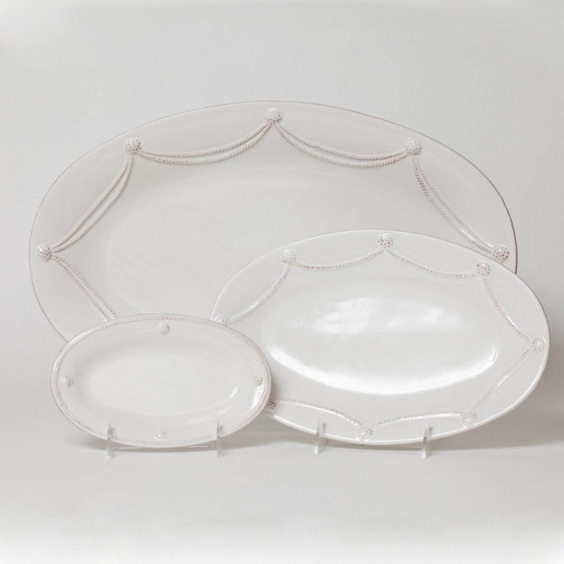 Juliska Berry & Thread Oval Platters