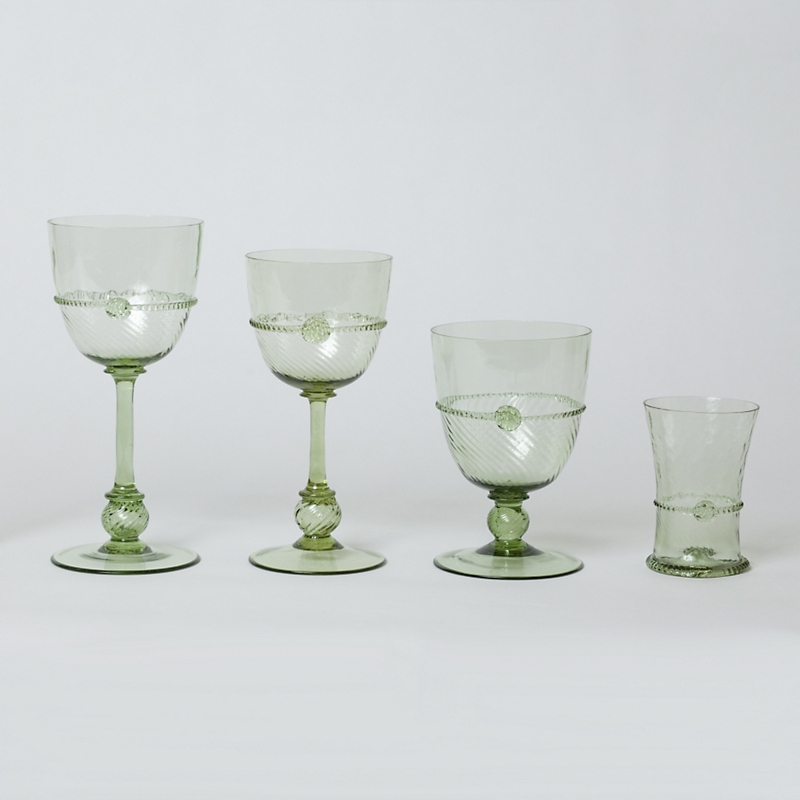 Juliska Graham Green Glassware