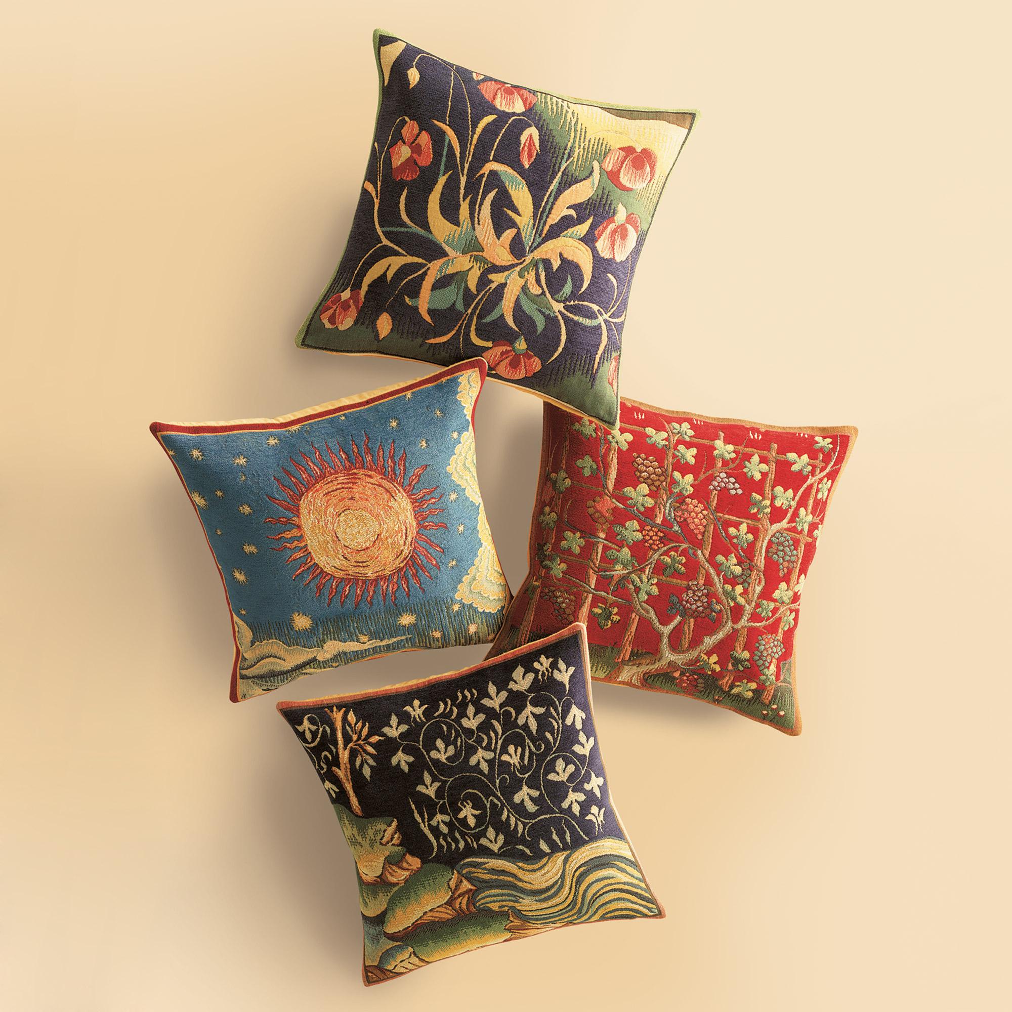 Throw Pillows Home : Four Seasons Pillows Gump s