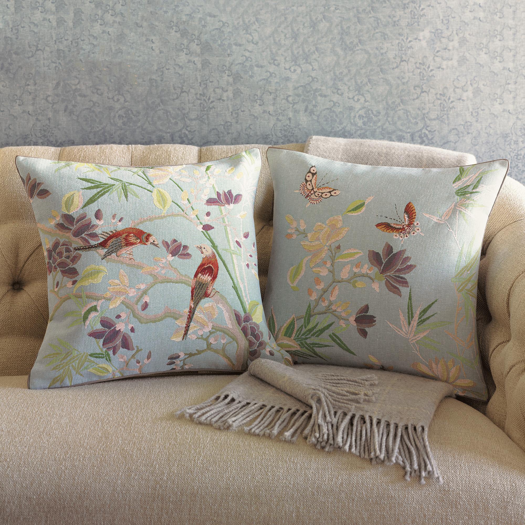 Bird & Butterfly Pillows Gump s