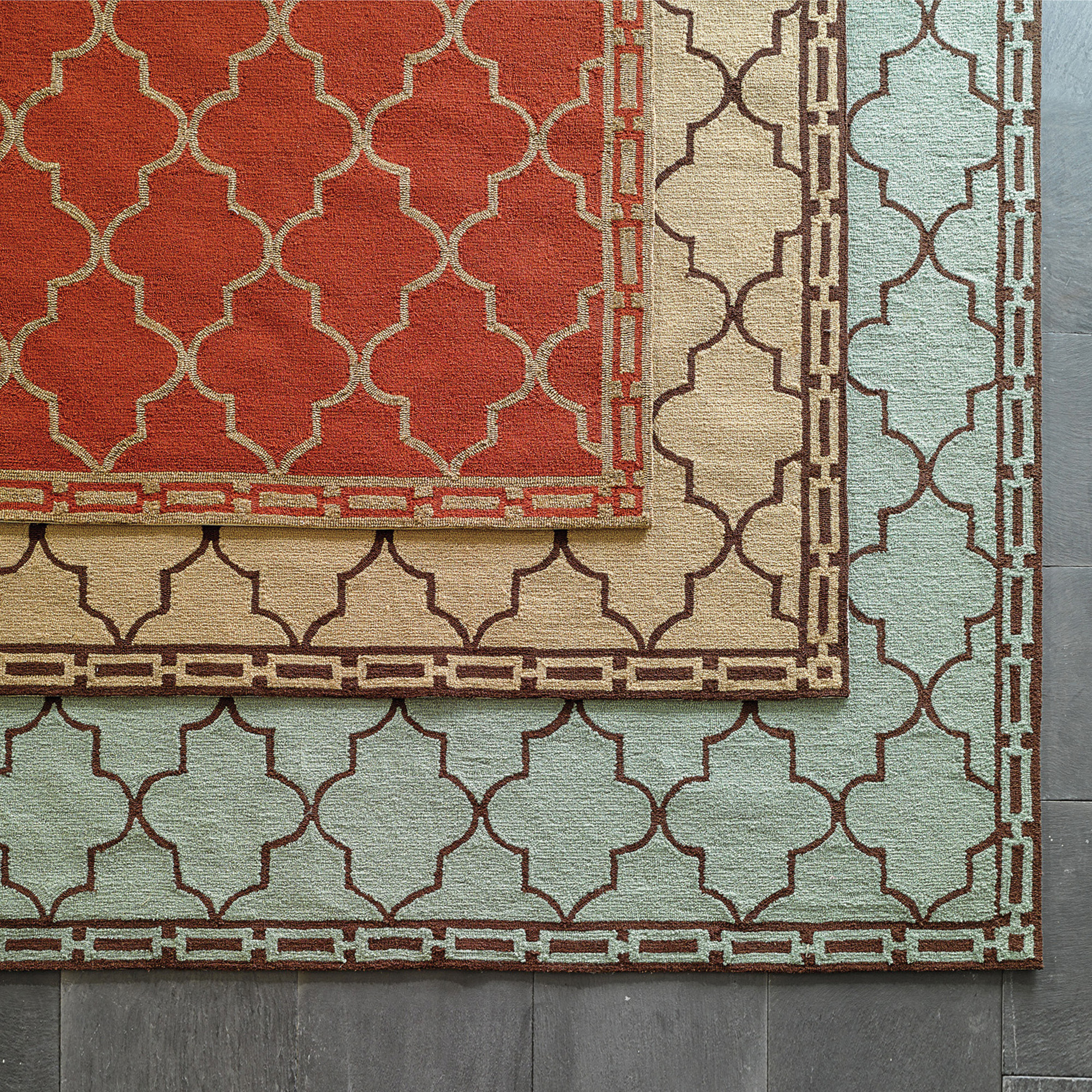 Moroccan Tile Indoor / Outdoor Rug