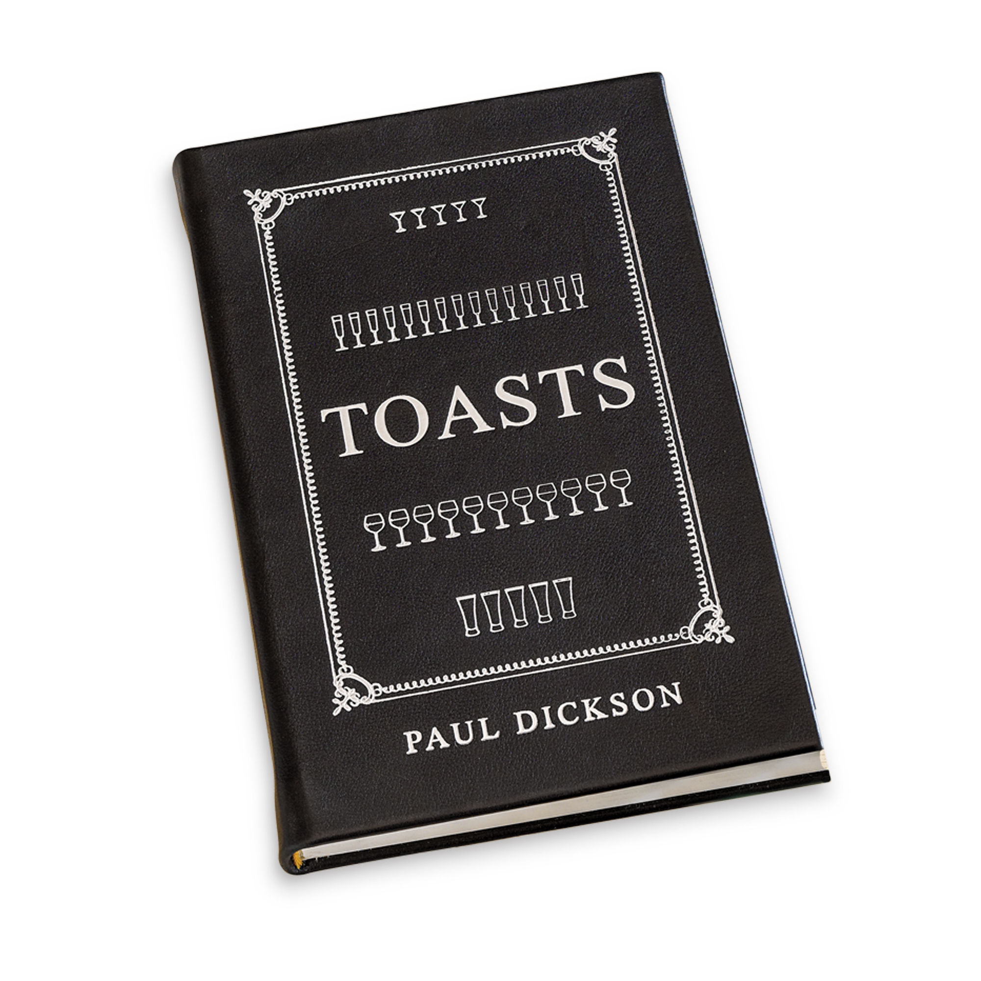 Leather Bound Book Of Toasts