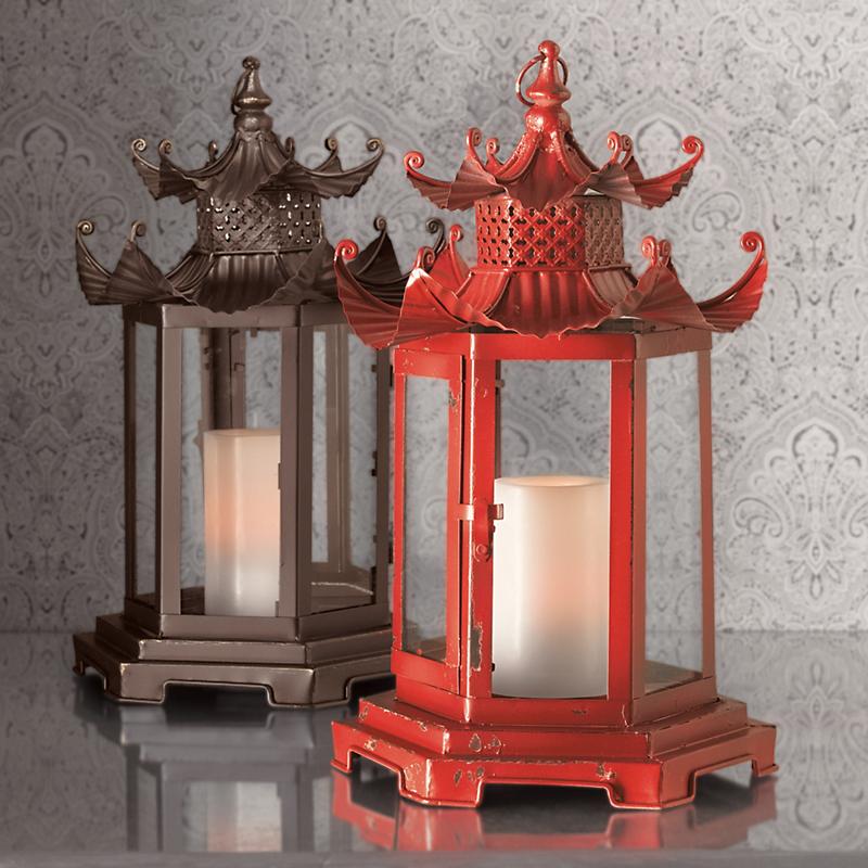 Gold Lantern Home Decor Christmas