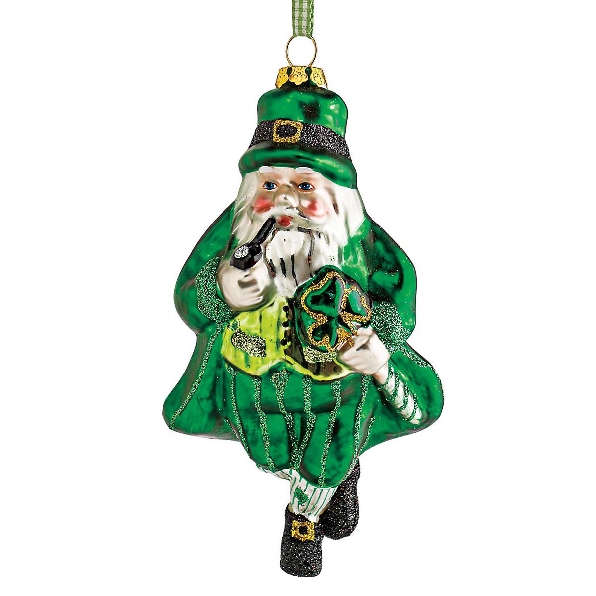 Irish Santa Christmas Ornament | Gump\'s