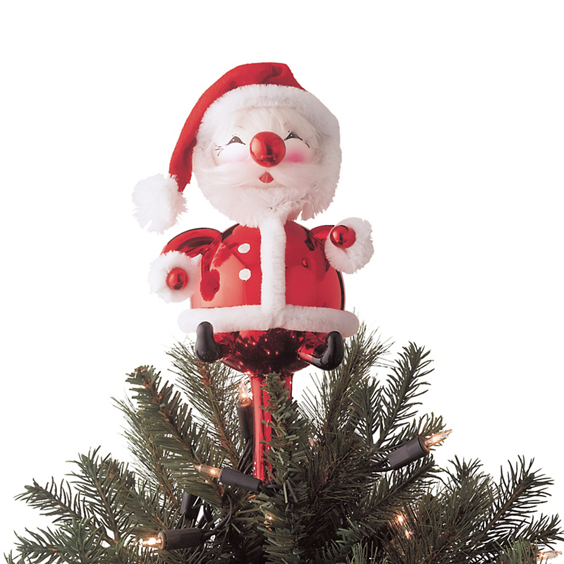 Christmas Tree Toppers Santa: Santa Tree Topper