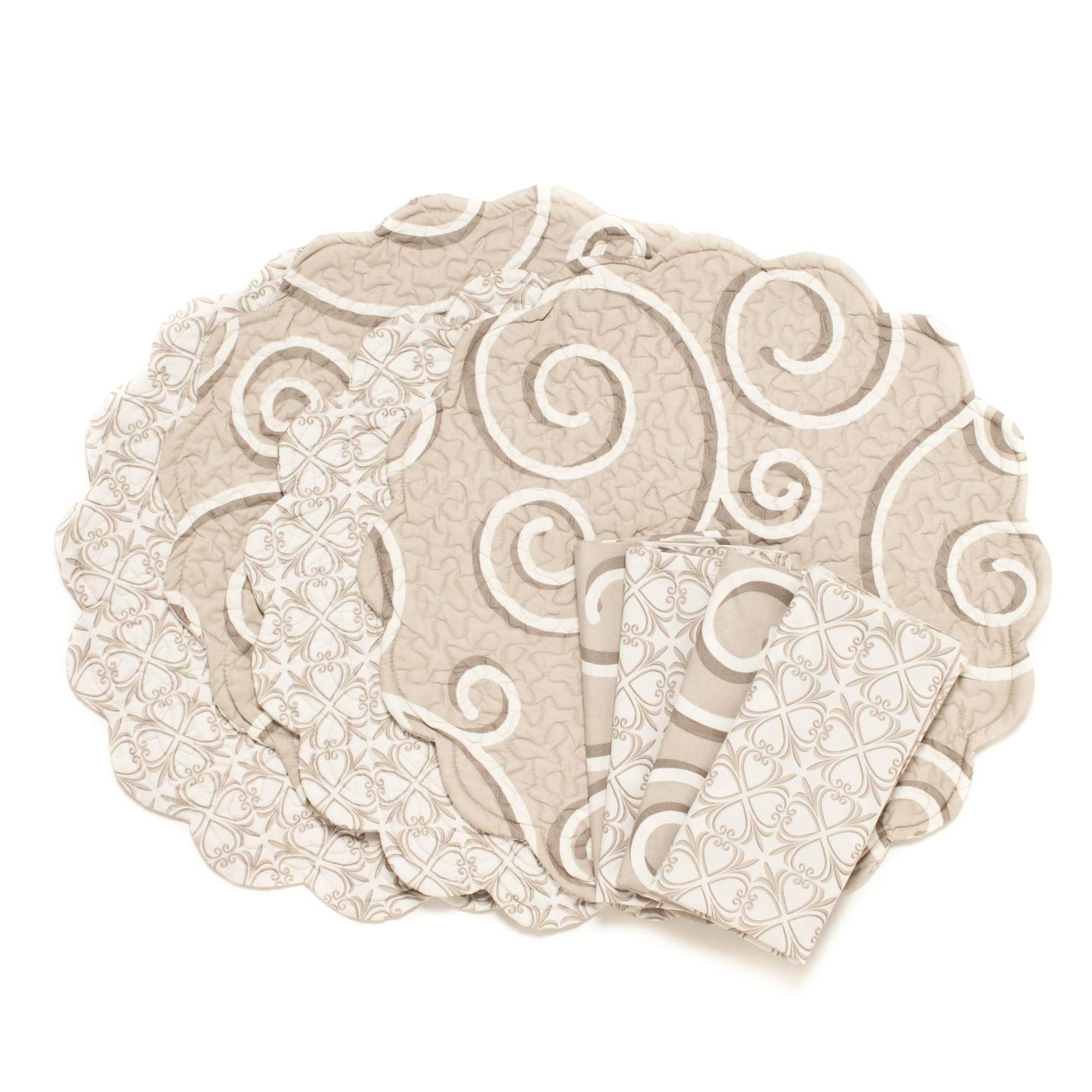 Montpellier Reversible Napkins, Set of 4