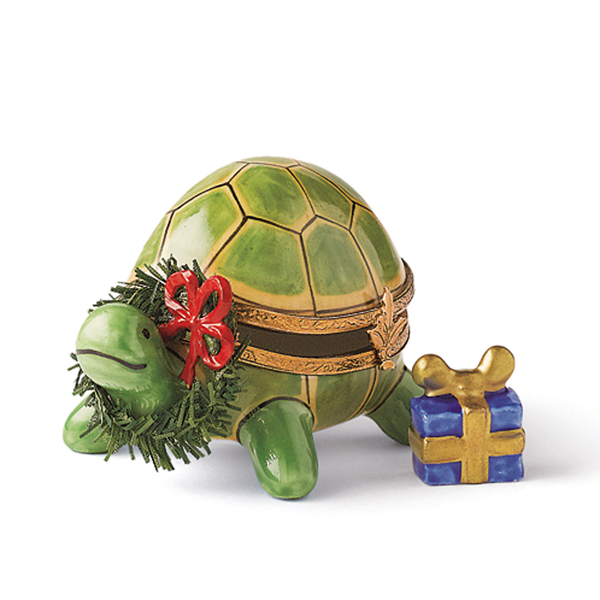 Limoges Holiday Turtle