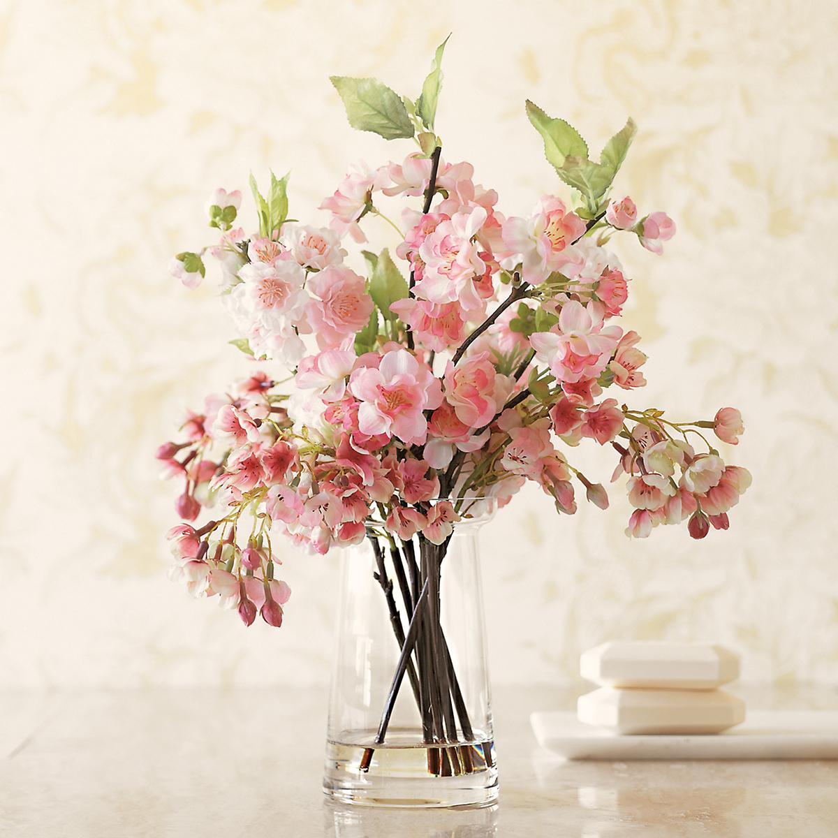 cherry blossom arrangement | gump's