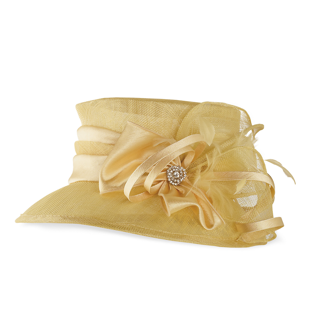 Yellow Sunday Hat