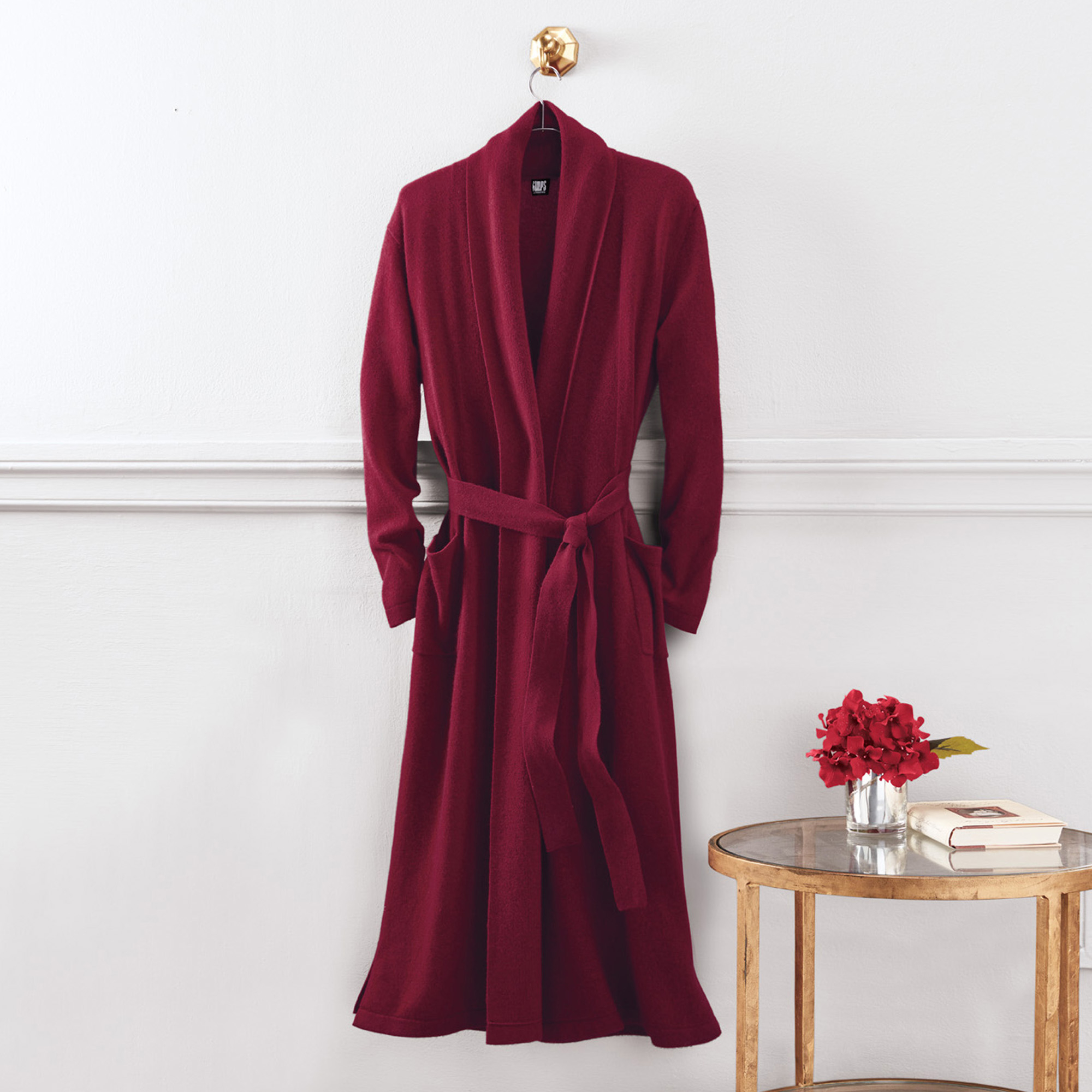Full Length Cashmere Robe