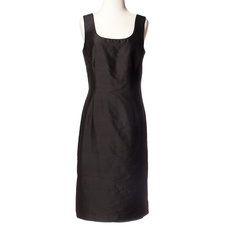 Silk Dupioni Sheath Dress