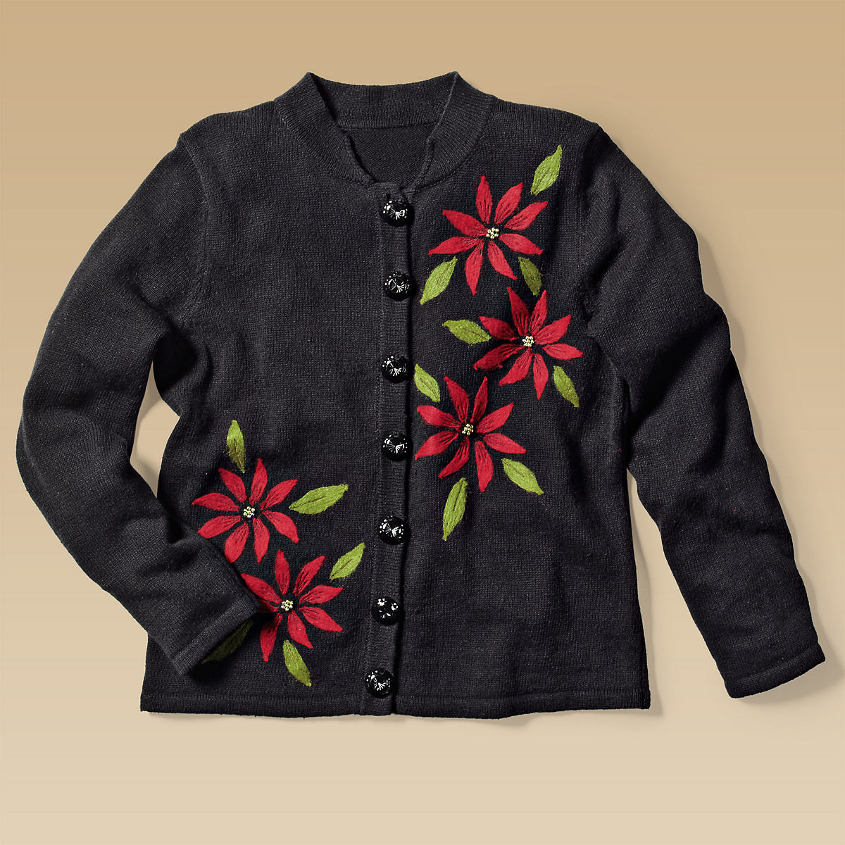 Poinsettia Cardigan