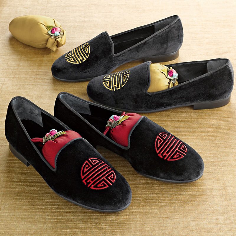 Velvet Shou Loafers