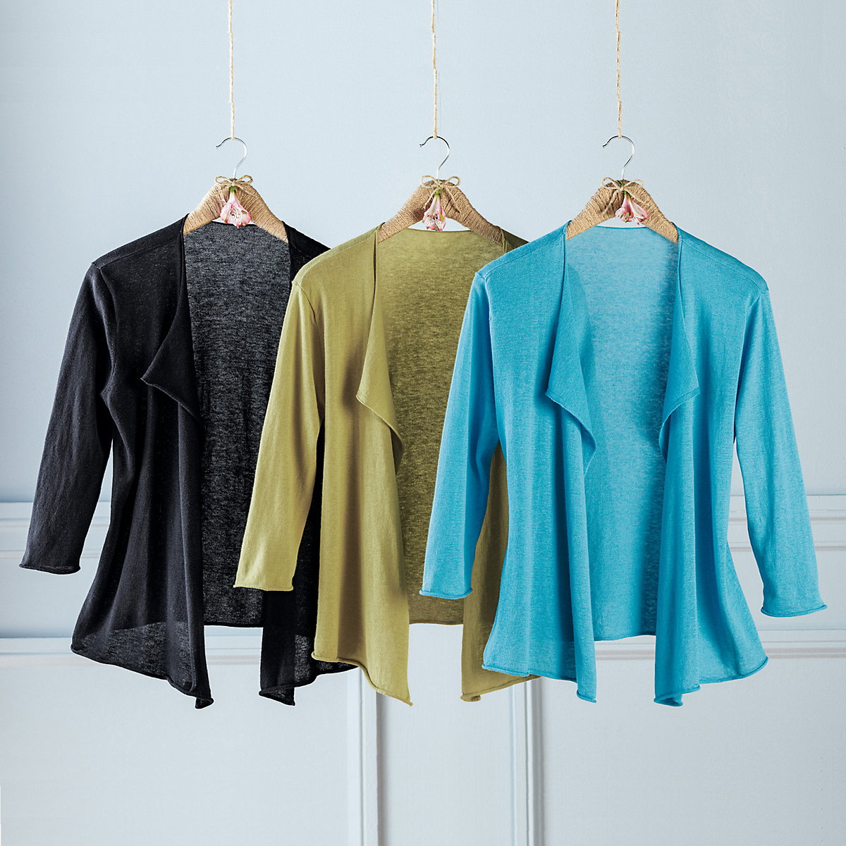 Open Front Olivia Sweater