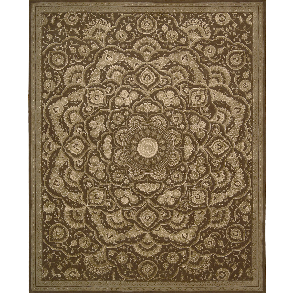 Nourison Regal Brown Rug