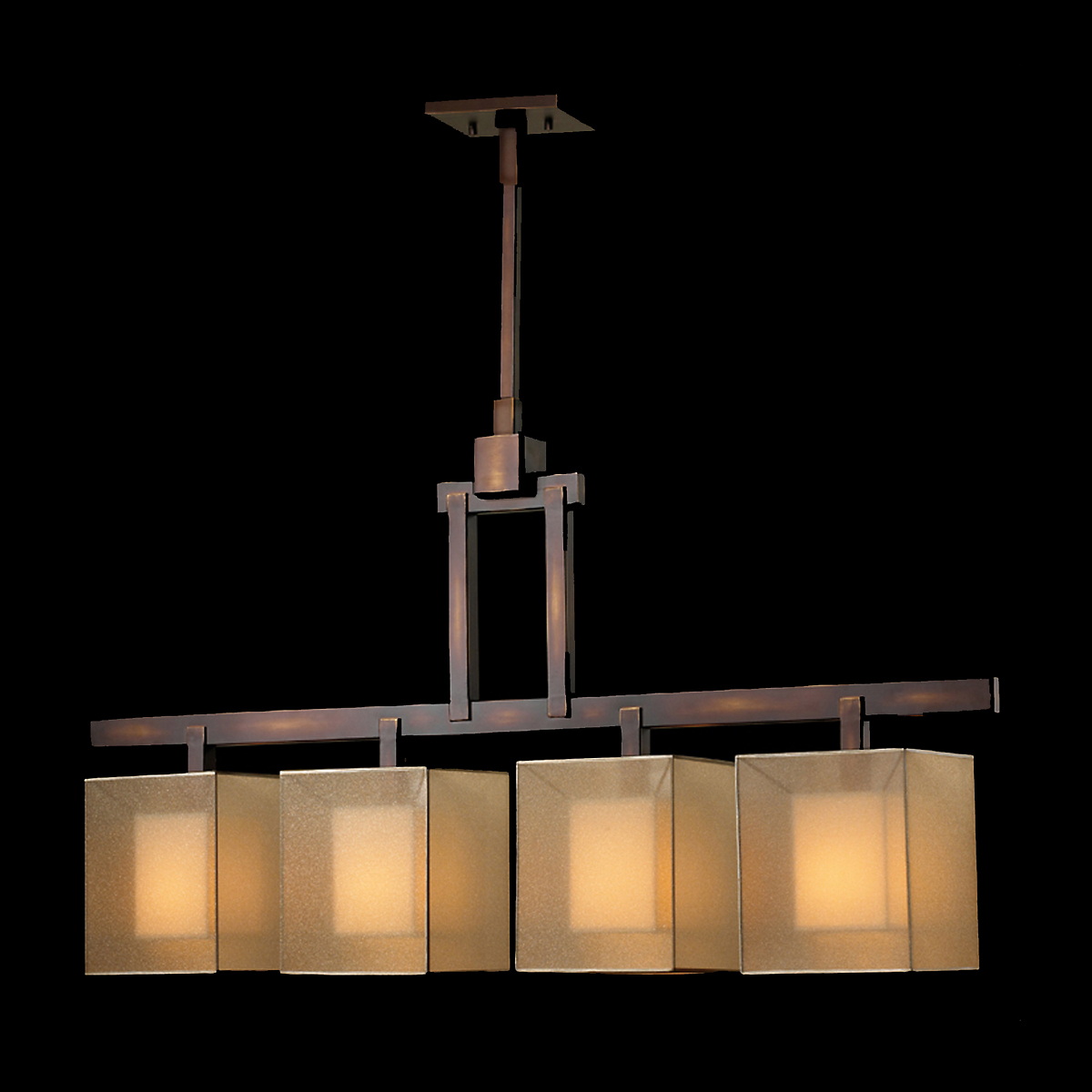 Floating Cube Chandelier