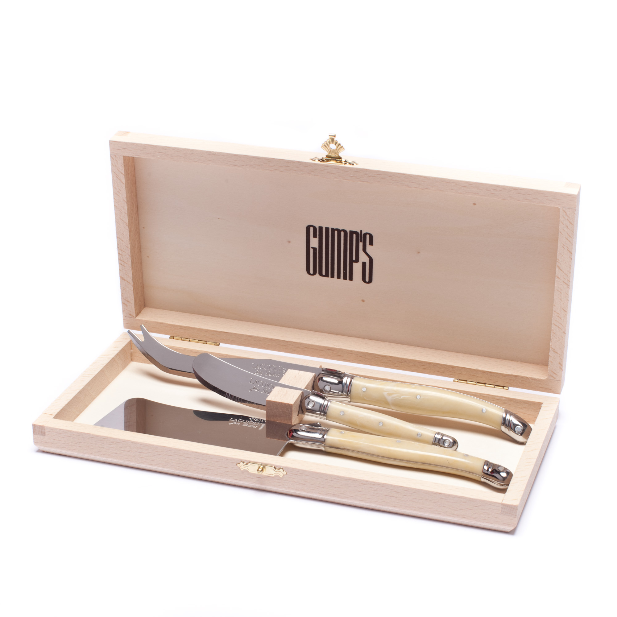 Laguiole Pearlized Cheese Knives